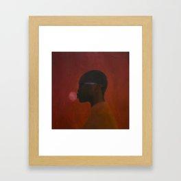 Red umbra Framed Art Print