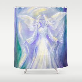 Angel of Love Shower Curtain