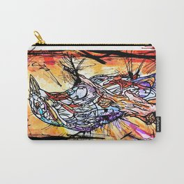 The Beautiful Bird Is The One Who Gets Caged Carry-All Pouch