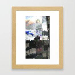 Wednesday 16 January 2013: clattering cleft clinking cloak Framed Art Print