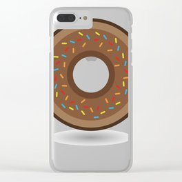donut Clear iPhone Case