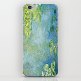 1906-Claude Monet-Waterlilies-73 x 92 iPhone Skin