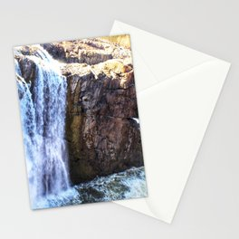 Waterfall at Paterson Great Falls National Historical Park Stationery Cards