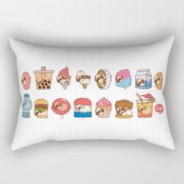 Puglie Food Collection 3 Rectangular Pillow
