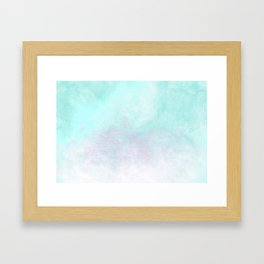 Candy Coated Contacts Framed Art Print