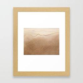 Robinson Crusoe wave Framed Art Print