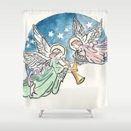 Angelic Hymn Shower Curtain