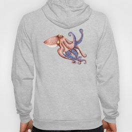 Blue octopus Hoody