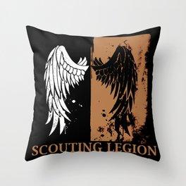 Attack On Titan Stiker Throw Pillow