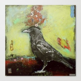 Crow3 Canvas Print