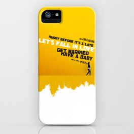 """Sign 'O' The Times"" - Prince Lyrics iPhone Case"
