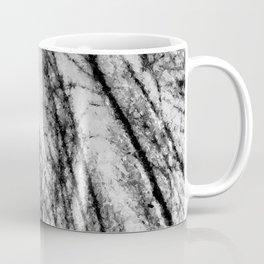 Monochrome Abstract Trees Coffee Mug