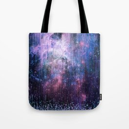 Blue Stardust Tote Bag