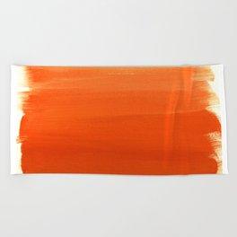 Oranges No. 1 Beach Towel