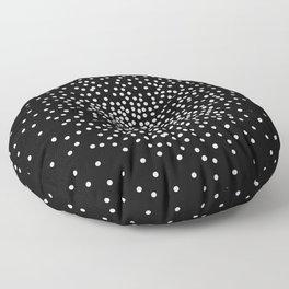 Dot Illusion - Keep Staring Floor Pillow