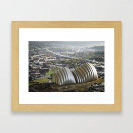 Kansas City - Kauffman Center Miniature Framed Art Print
