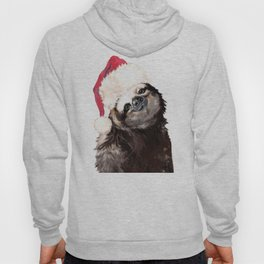 Christmas Sloth Hoody