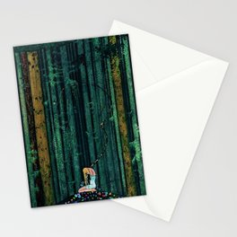 In the Midst of the Gloom of the Enchanted Woods by Kay Nielsen Stationery Cards