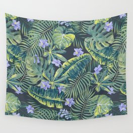 Palm Leaves Pattern 9 Wall Tapestry