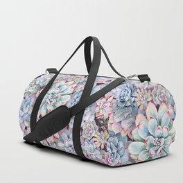 succulent garden 3 Duffle Bag
