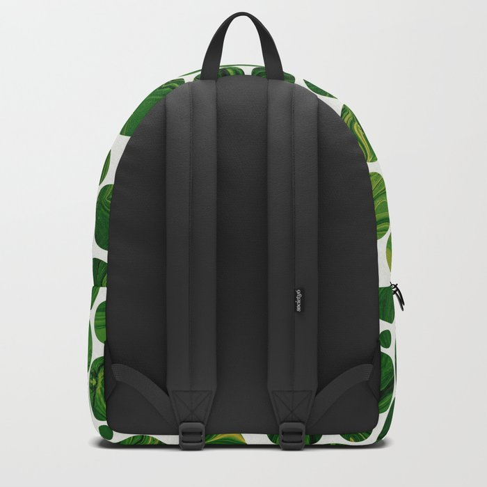 Marble Effect Dots 3 Backpack