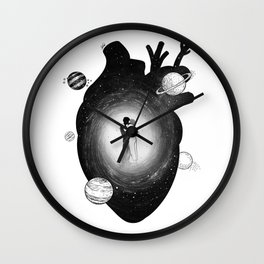 Our one heart. Wall Clock