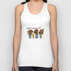Scotties for all! Unisex Tank Top