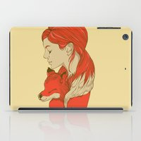 lady iPad Cases featuring Lady Fox by Huebucket