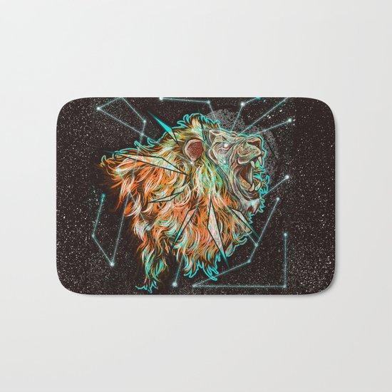 Space lion  Bath Mat