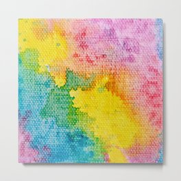 Rainbow Abstract #3 Metal Print