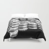 daria Duvet Covers featuring AIR DUCT CHAIR BY DARIA PIRNIA by Daria Pirnia