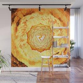 Solar Plexus Chakra Fire Element - 70 Wall Mural