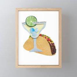 Taco Tuesday Framed Mini Art Print