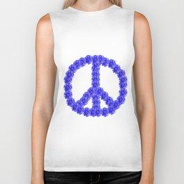 Peace for everyone Biker Tank