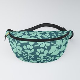Tropical Paws in Green Fanny Pack