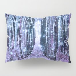 Magical Forest Lavender Ice Blue Periwinkle Pillow Sham