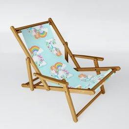 Unicorns, Mermaids & Rainbows...Oh My! Sling Chair