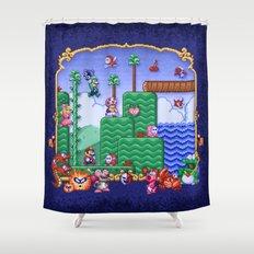 Mario Super Bros, Too Shower Curtain