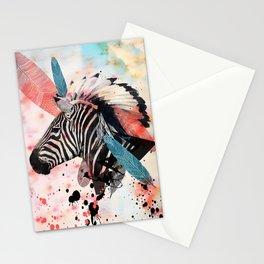 Zebra Chief Stationery Cards