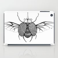 beetle iPad Cases featuring Beetle by Freja Friborg