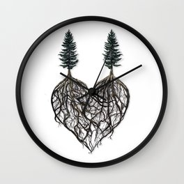 The Way I Love You (album cover for Corey Lewin) Wall Clock