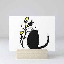 Little cat Mini Art Print