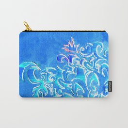 Cerulean Pattern Carry-All Pouch