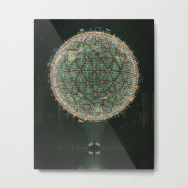 UI //002 Metal Print