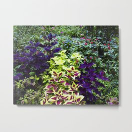 Floral Print 005 Metal Print
