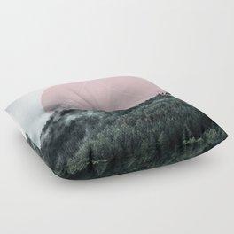 Foggy Woods 2 Floor Pillow