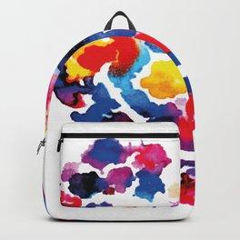 Heart Floral Emoji Happy Smiling Face Backpack