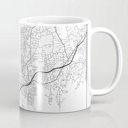 Minimal City Maps - Map Of Stamford, Connecticut, United States Coffee Mug