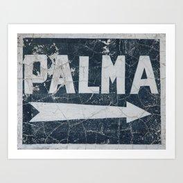 Palma Art Print