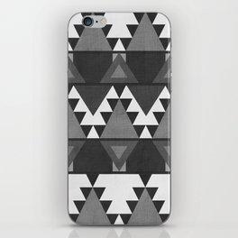 Aztec Grey iPhone Skin